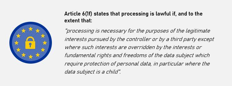 GDPR lawful basis