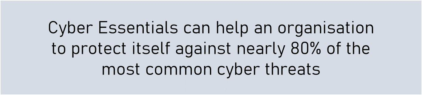 benefits of cyber essentials against common threats