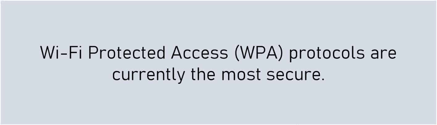 wireless networks - what is WPA