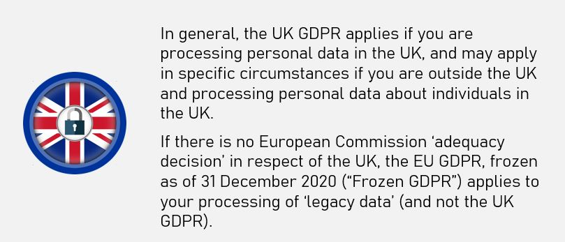 GDPR after Brexit